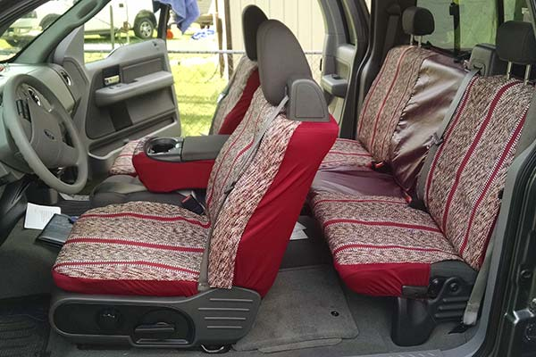 Customer Submitted Image - Saddleman Saddle Blanket Seat Cover for 2004 to 2008 Ford F-150