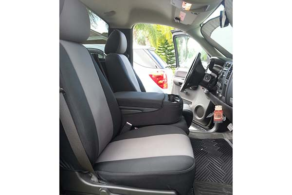 Customer Submitted Image - Seat Designs NeoSupreme Seat Covers for 2008 to 2009 Chevy Silverado