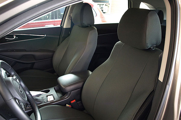 seat designs grand tex seat covers installed