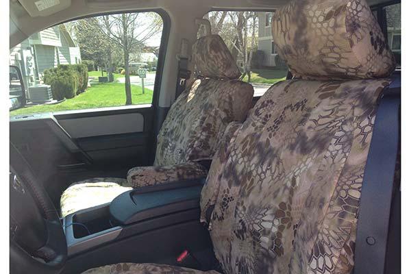 Customer Submitted Image - Skanda Kryptek Camo NeoSupreme Seat Covers