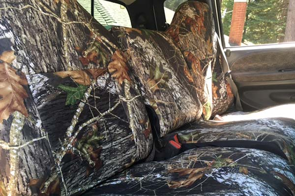 Customer Submitted Image - Skanda Mossy Oak Neoprene Seat Covers