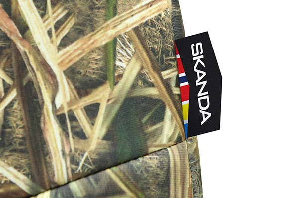 Detailed view of high-quality, Neosupreme mossy oak camo print