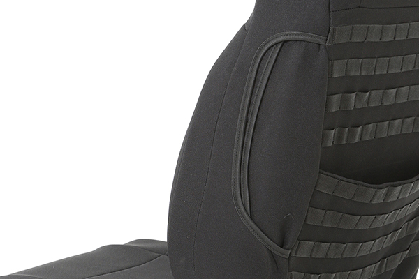 smittybuilt gear custom fit seat covers side detail