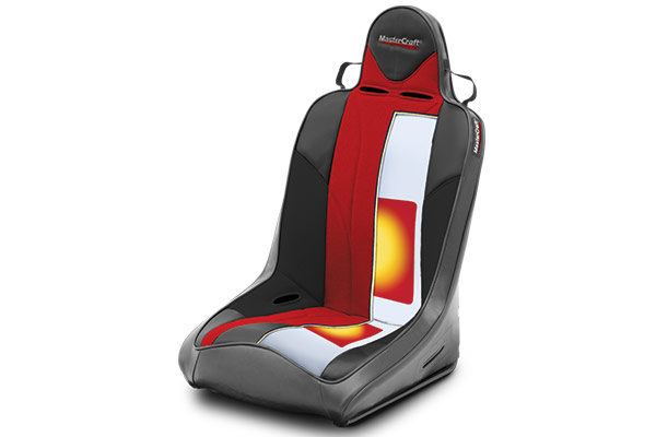 mastercraft rubicon seats heater