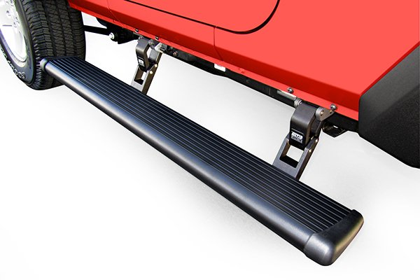 amp power step running boards related 2doorjeep retracted