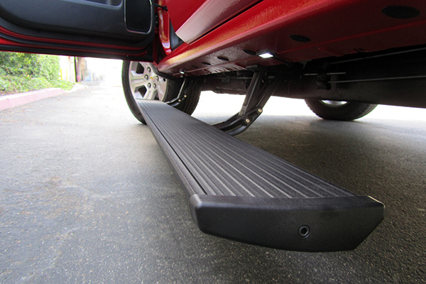 amp power step running boards related closeup