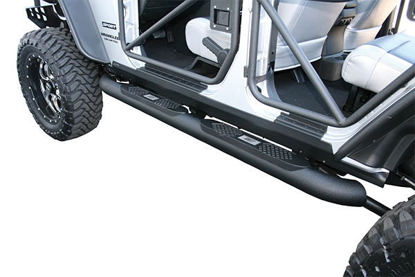 aries big step textured black jeep
