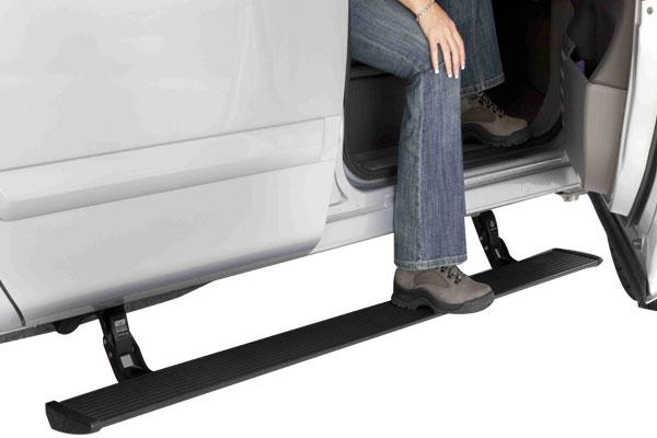 Automatic Retractable To Aluminum Diamond Tread Steps
