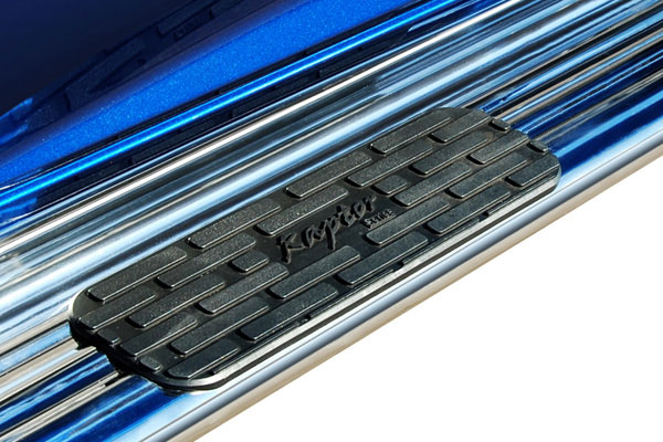 raptor series stainless steel running boards 4