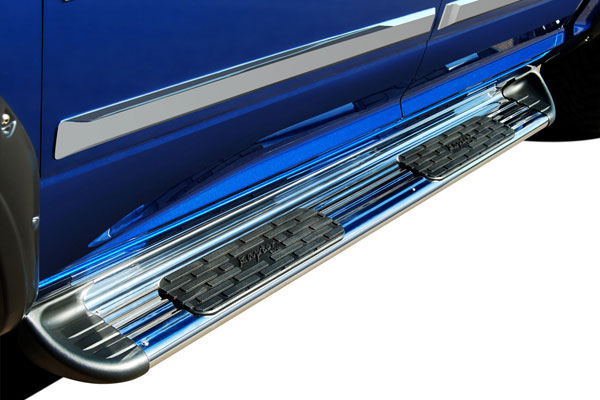 raptor series stainless steel running boards 5