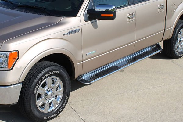 raptor series stainless steel running boards 7