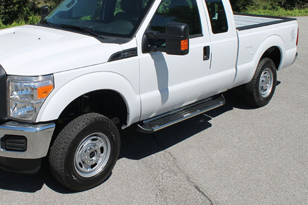 raptor series stainless steel running boards 8