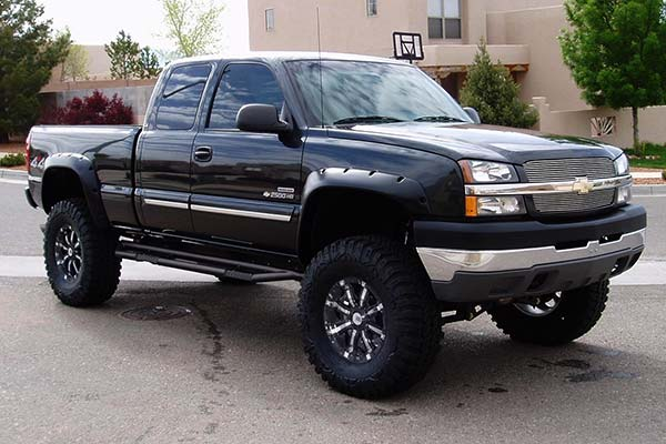 rbp rx3 nerf bars in black installed on chevy silverado