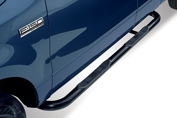 westin 3in signature series round nerf bars 25 2355 01