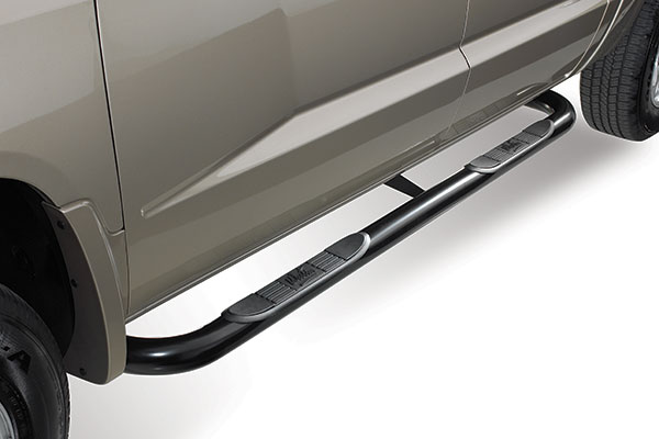 westin 3in signature series round nerf bars 25 2795 02