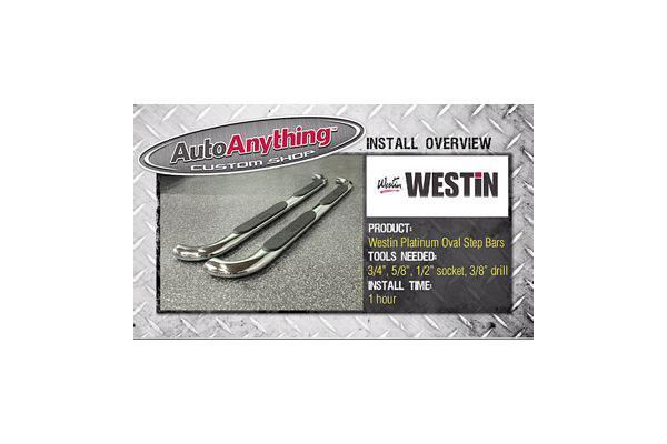 westin platinum oval install summary