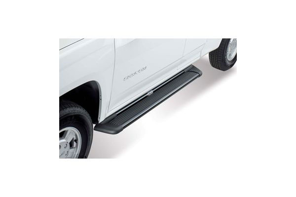 westin sure grip aluminum running boards black