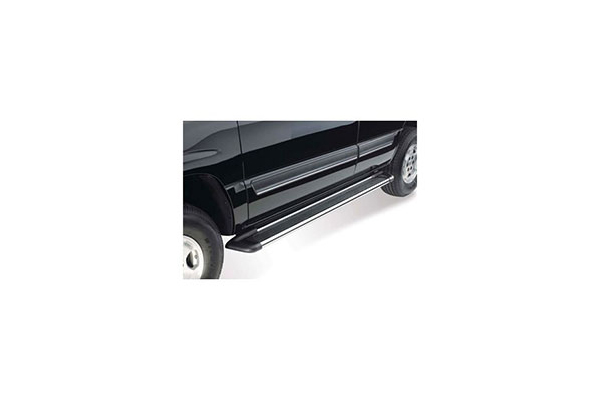 westin sure grip aluminum running boards polished aluminum