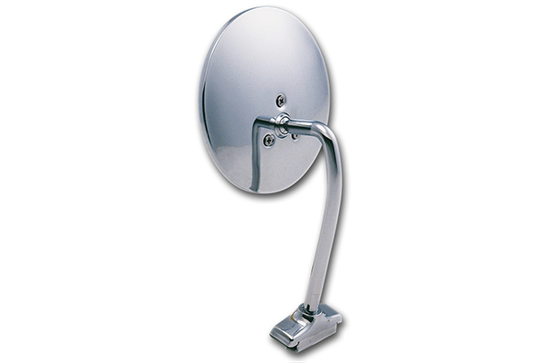 k source universal car side view mirrors chrome circle