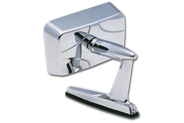 k source universal car side view mirrors chrome square