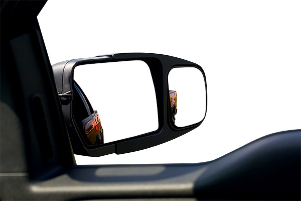 longview towing slip on towing mirrors blind spot