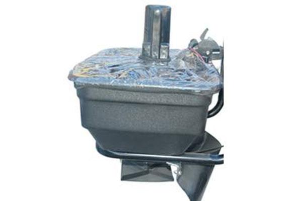 meyer base line atv salt spreader D BL 125 elevated motor 3