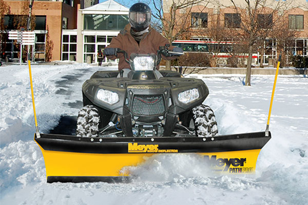 meyer path pro atv snow plow A ATV Plow rel1