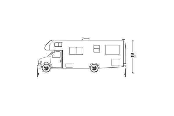 classic accessories polypro 3 deluxe rv covers class c size chart