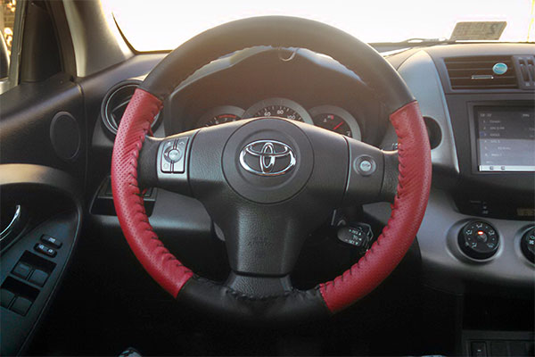 5299 wheelskins europerf steering wheel cover toyota rav4