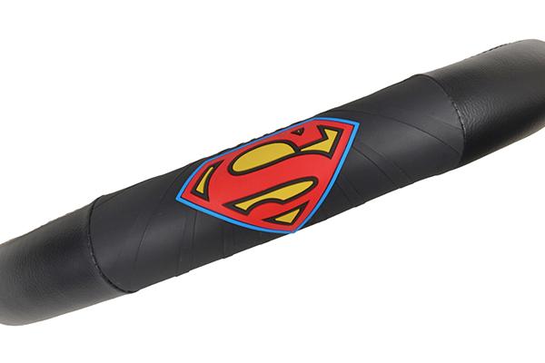 bdk superman steering wheel cover logo detail