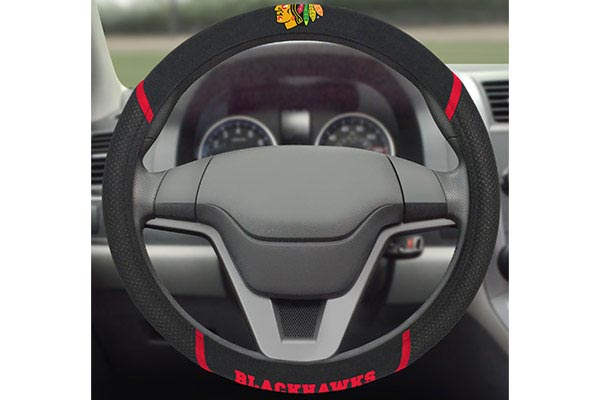 fanmats nhl steering wheel covers installed