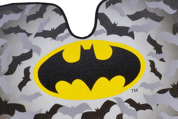 bdk batman windshield sun shade logo detail