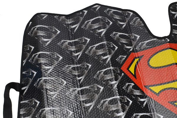 bdk superman windshield sun shade folding