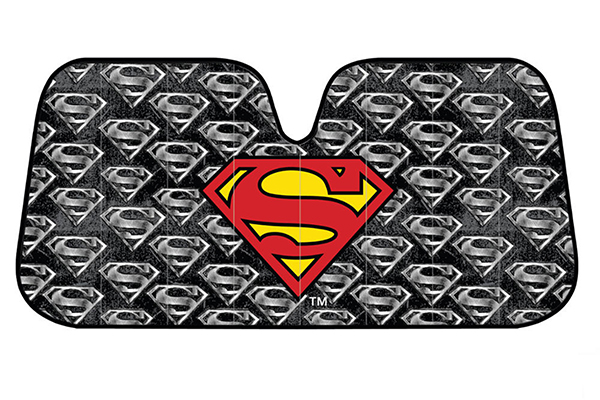 bdk superman windshield sun shade front