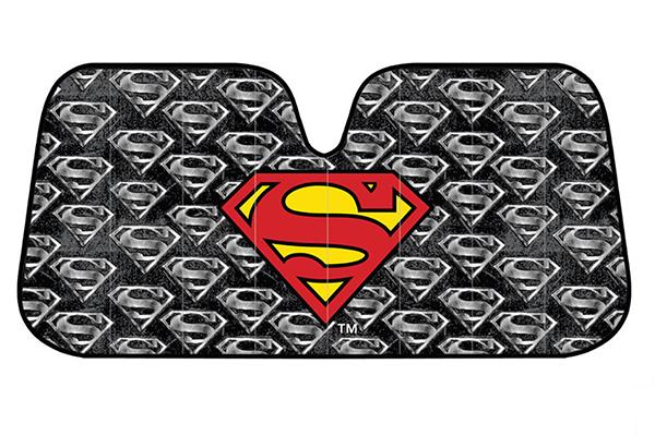 bdk superman windshield sun shade front