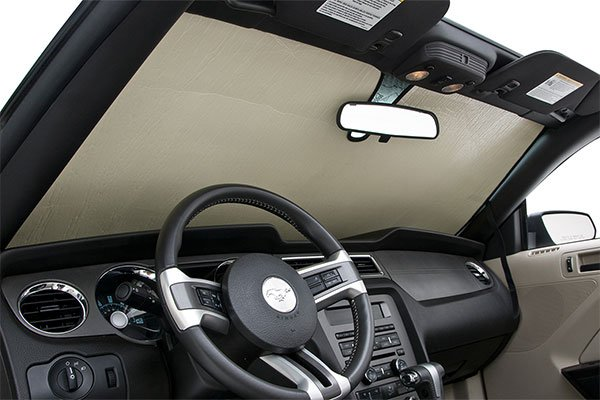 coverking-roll-up-sun-shield-mustang-installed