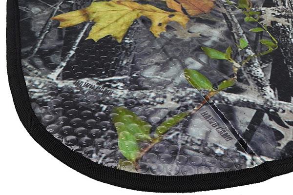 proz timber camo windshield sun shade detail