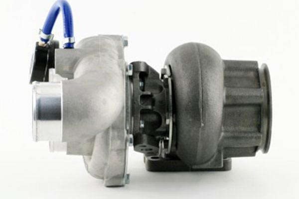 afe bladerunner turbocharger sideview