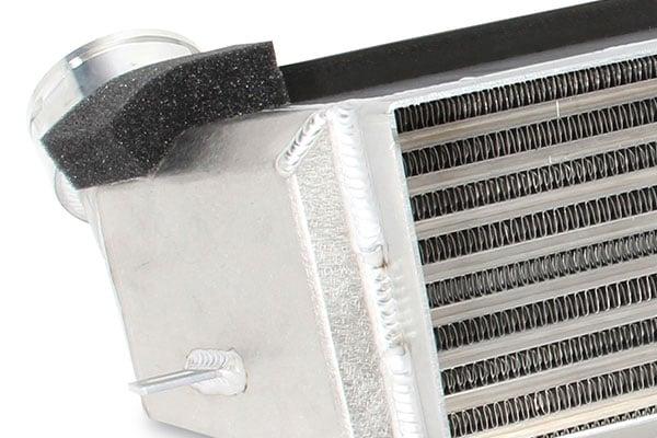 dinan turbo intercooler weld detail