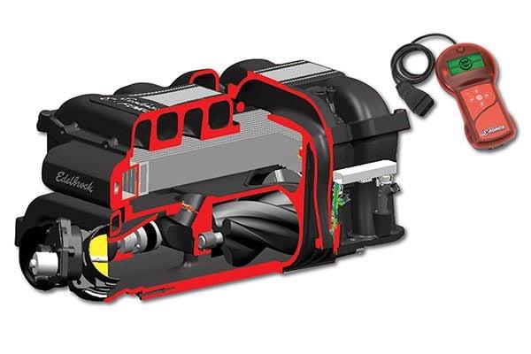 edelbrock eforce supercharger kits cutaway related1