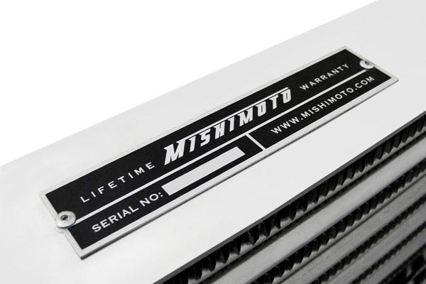 mishimoto universal intercooler serial number