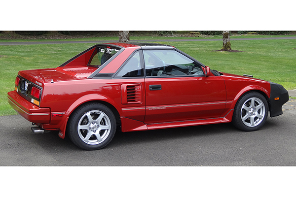 eibach pro springs installed on toyota mr2