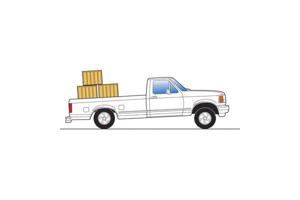 truck bed sag