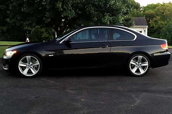 eibach pro kit lowering springs installed on 2007 bmw 3 series coupe