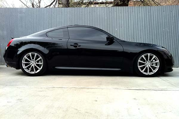 eibach pro kit lowering springs installed on 2008 infiniti g37 rwd
