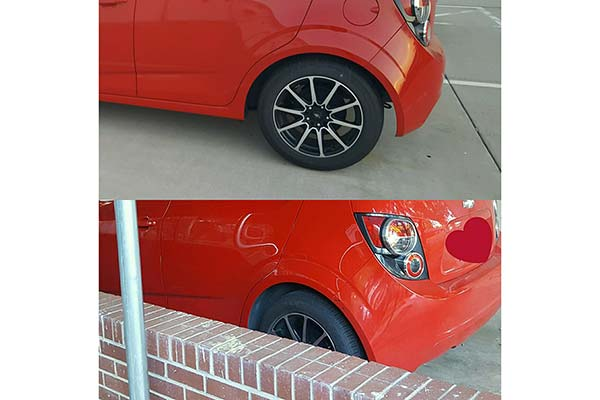 eibach pro kit lowering springs installed on 2013 chevy sonic