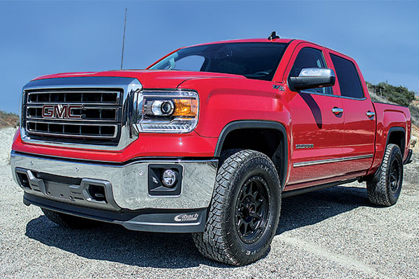 eibach pro truck shocks gmc lifestyle