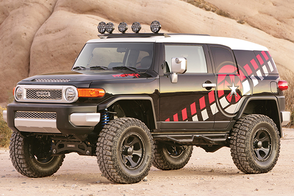 fabtech lift kits toyota fj cruiser lifestyle