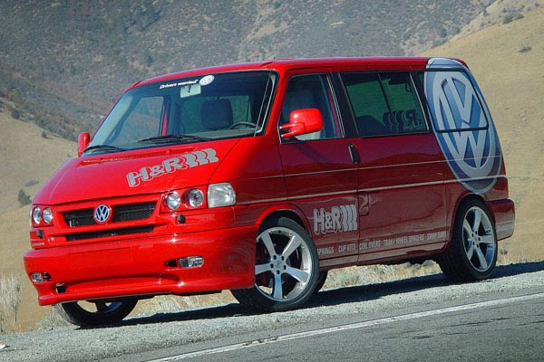 h r sport cup spring and shock kit vw eurovan lifestyle