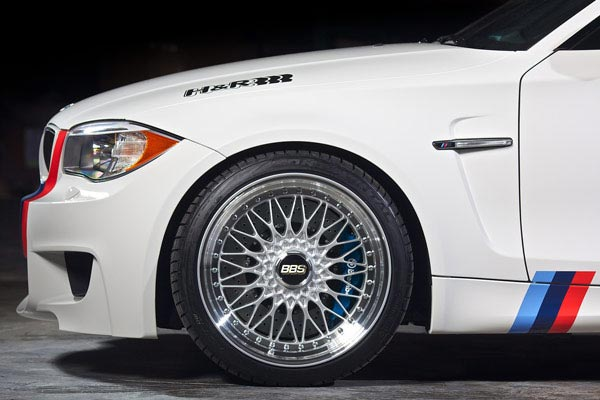 h r sport lowering coil springs bmw 1m lifestyle side profile